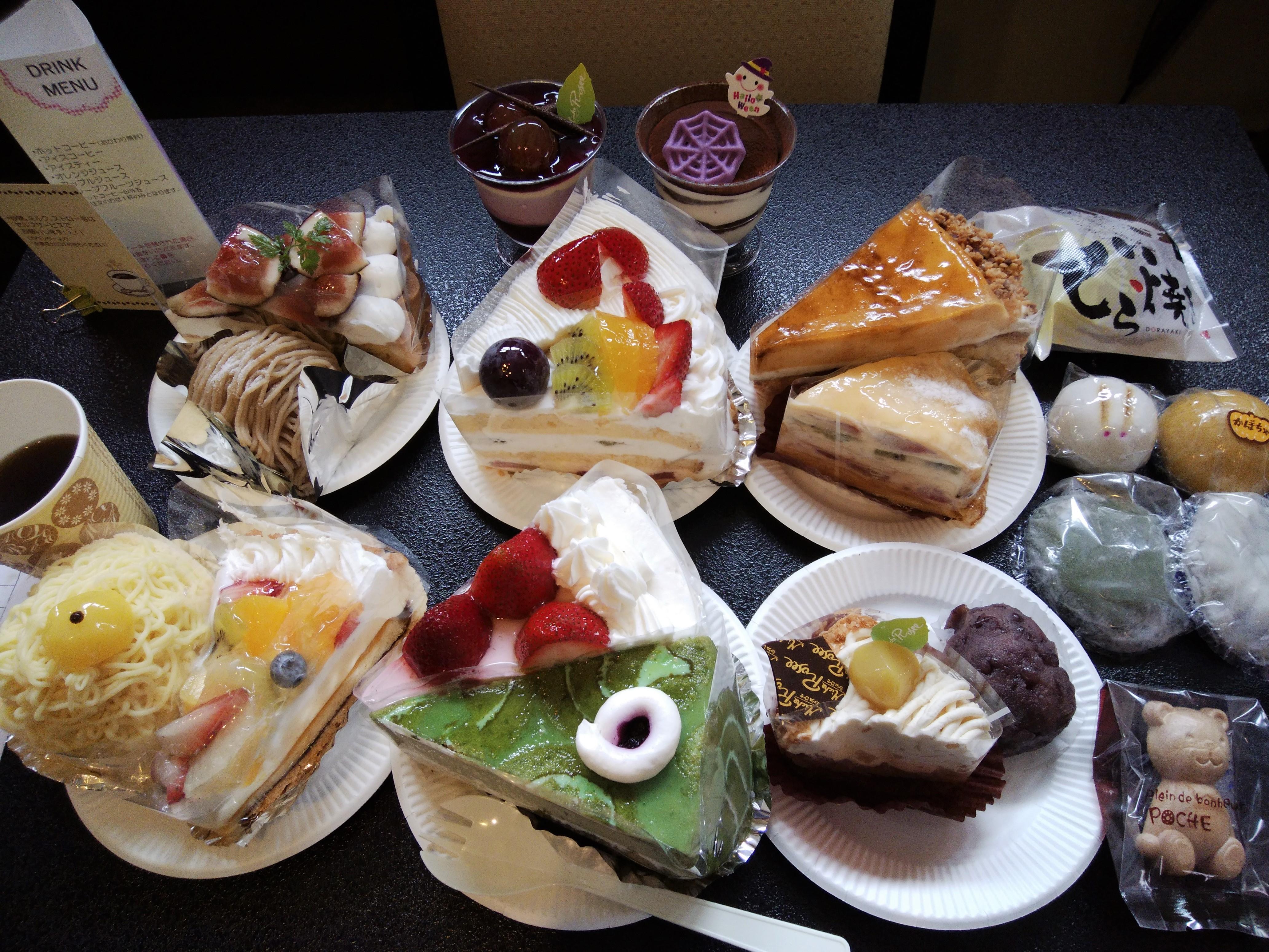 バイキング ケーキ